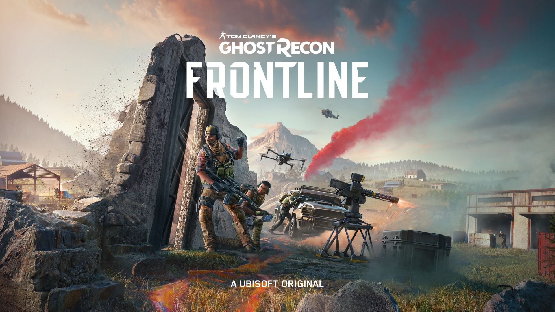 Video For Ghost Recon Frontline Drops 100 Players into Massive Tactical-Action Battles