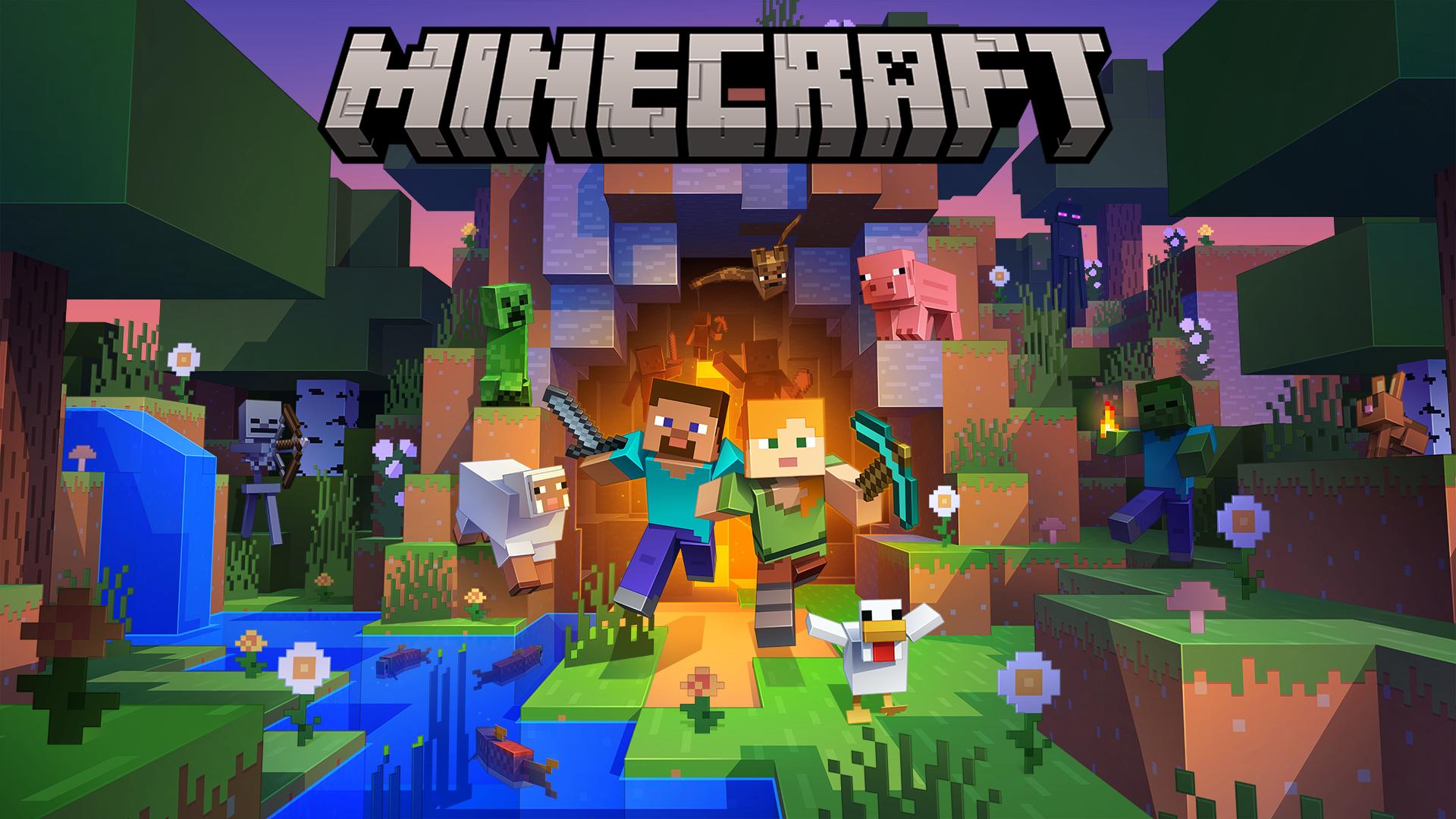 Coming November 2 to Xbox Game Pass for PC: Minecraft Java and Bedrock Editions
