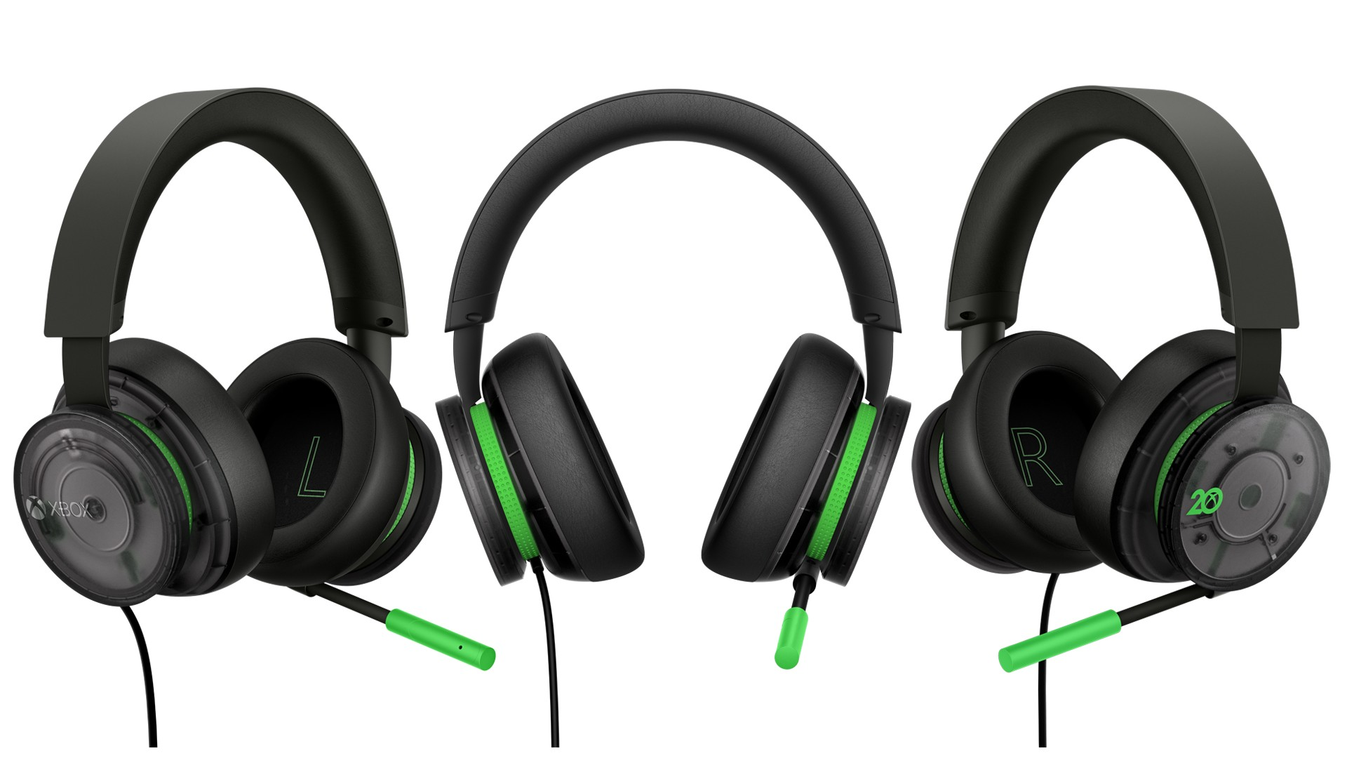 20th Anniversary Special Edition Xbox Stereo Headset