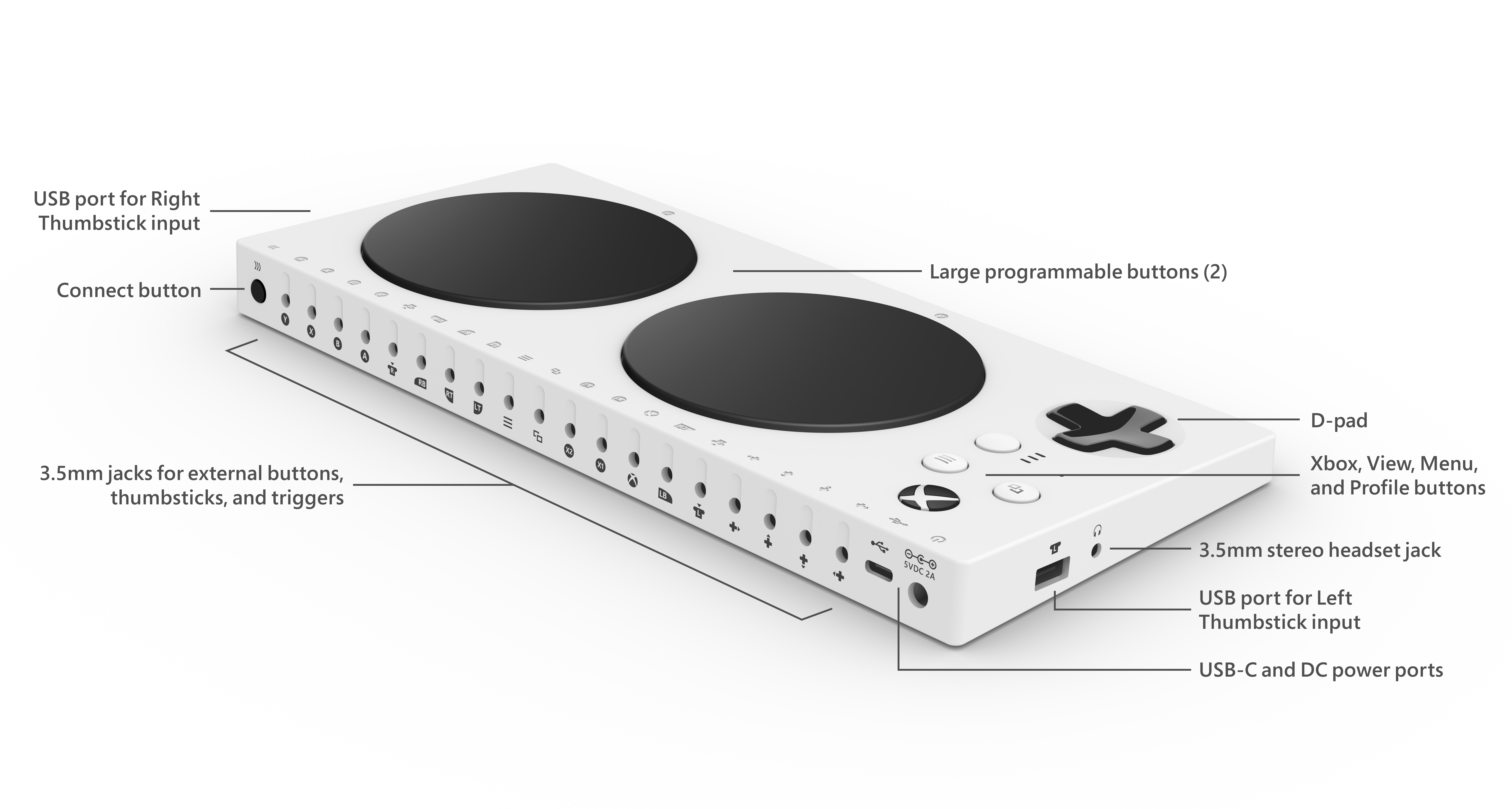 Xbox Adaptive Controller Back ANR Mapping