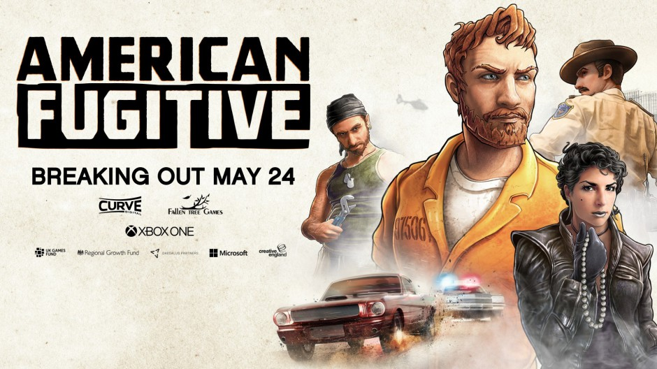 Video For A Love Letter to Classic Action Games, American Fugitive Coming to Xbox One May 24