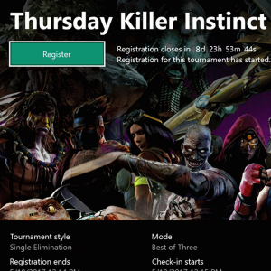 Video For Arena on Xbox Live launches for Killer Instinct