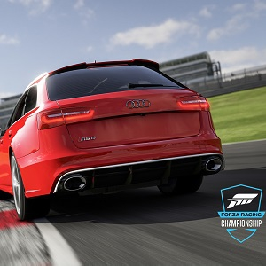 Red Audi RS6 as featured in Forza Motorsport 6