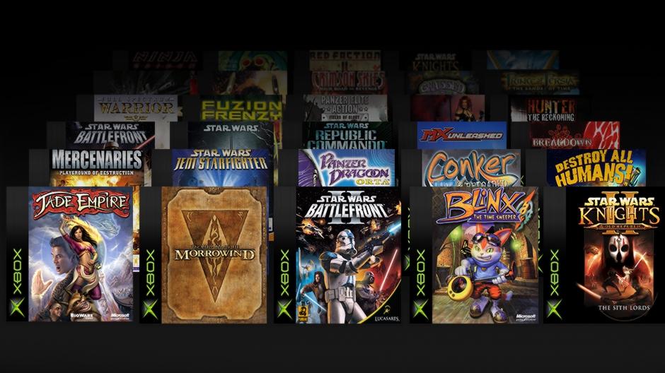 Xbox Backward Compatibility Hero Image