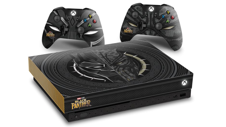 Black Panther Xbox One X Console Sweepstakes Hero Image