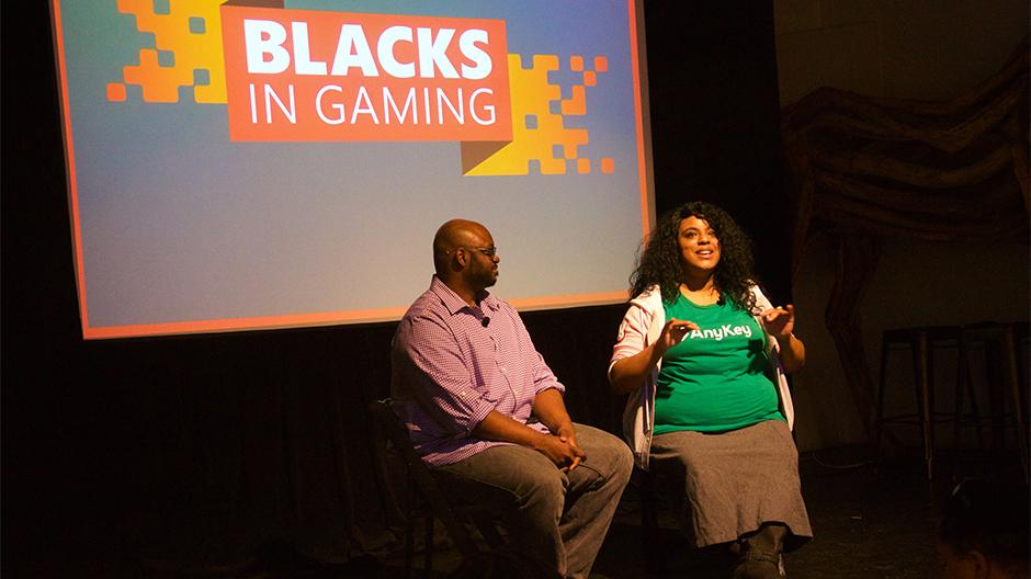 Blacks in Gaming 2018 Hero image