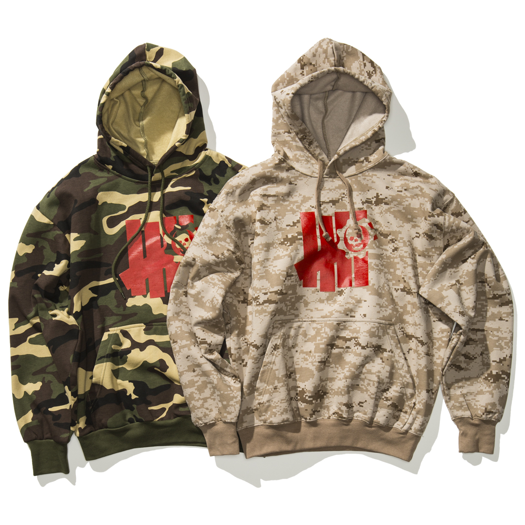 Undefeated x Gears of War Collection – Camo hoods
