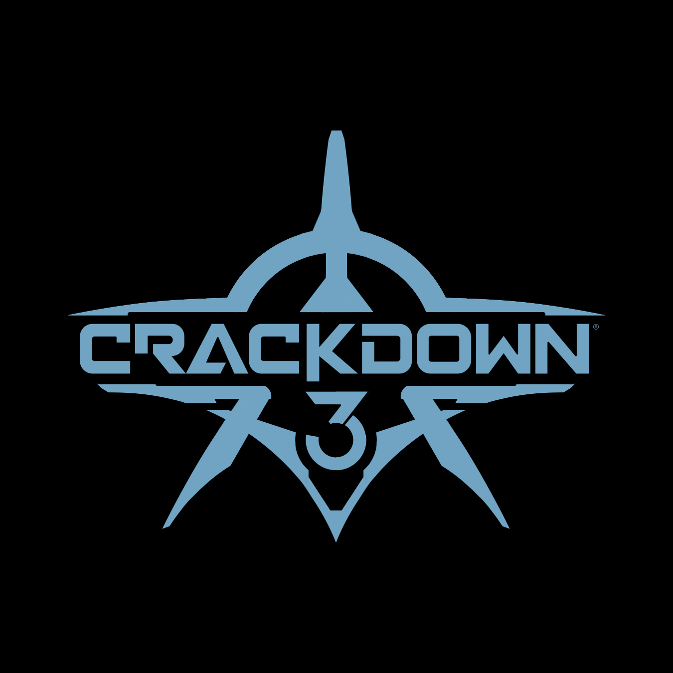 Crackdown 3 Small Blue and Black