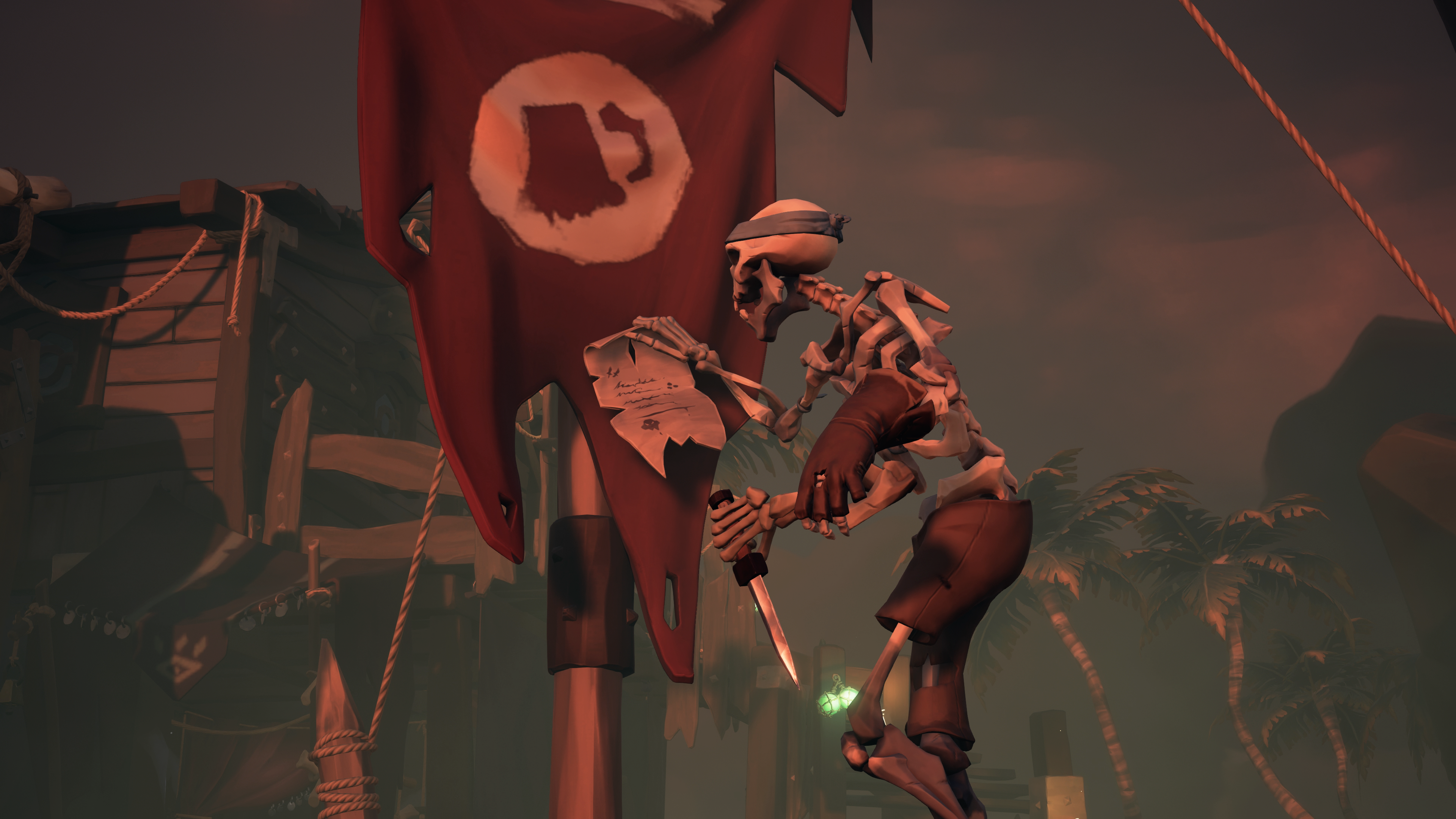 Sea of Thieves Cursed Sails Skeleton Warrant