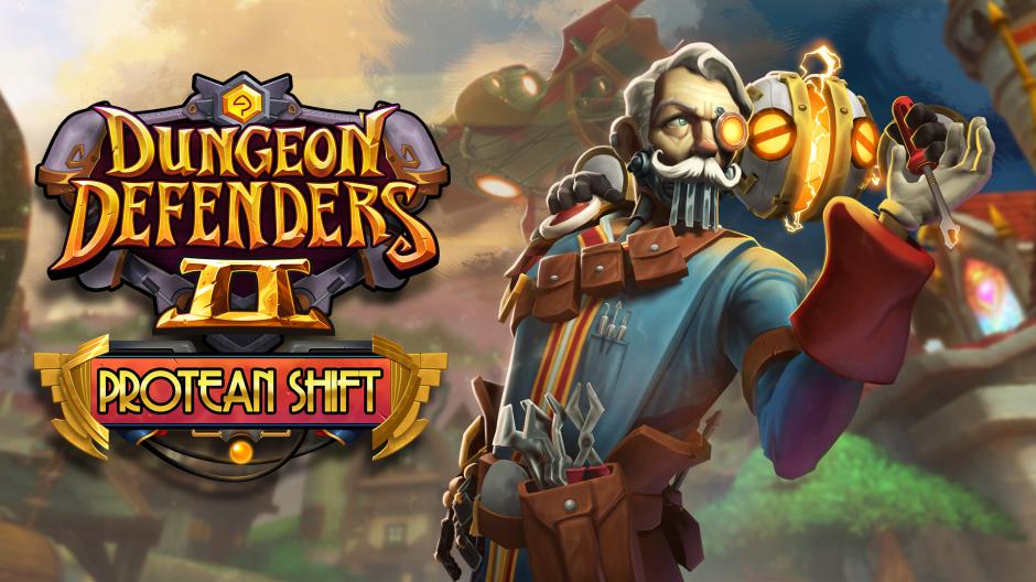 Dungeon Defenders II Protean Shift Hero Image