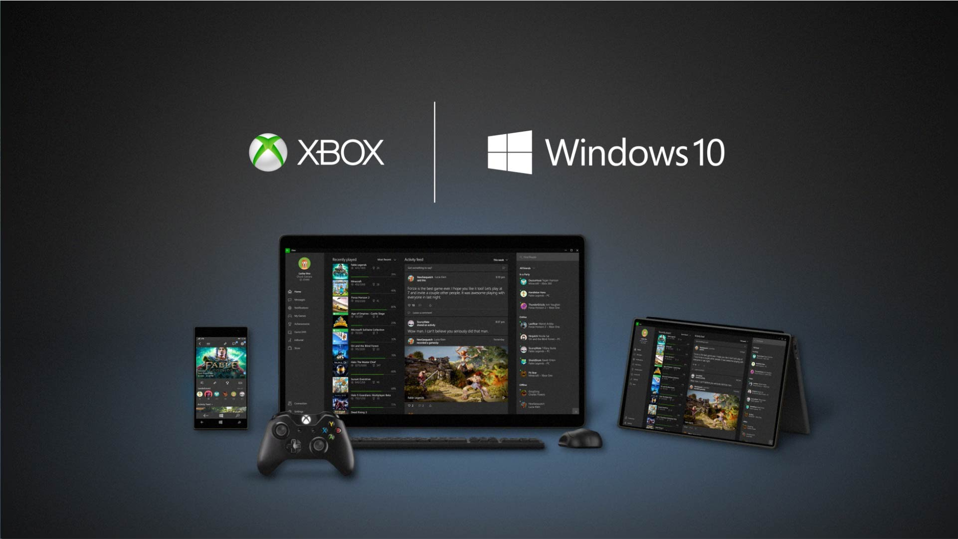 Video For Phil Spencer Unveils New Experiences for Xbox One and Windows 10 Gamers