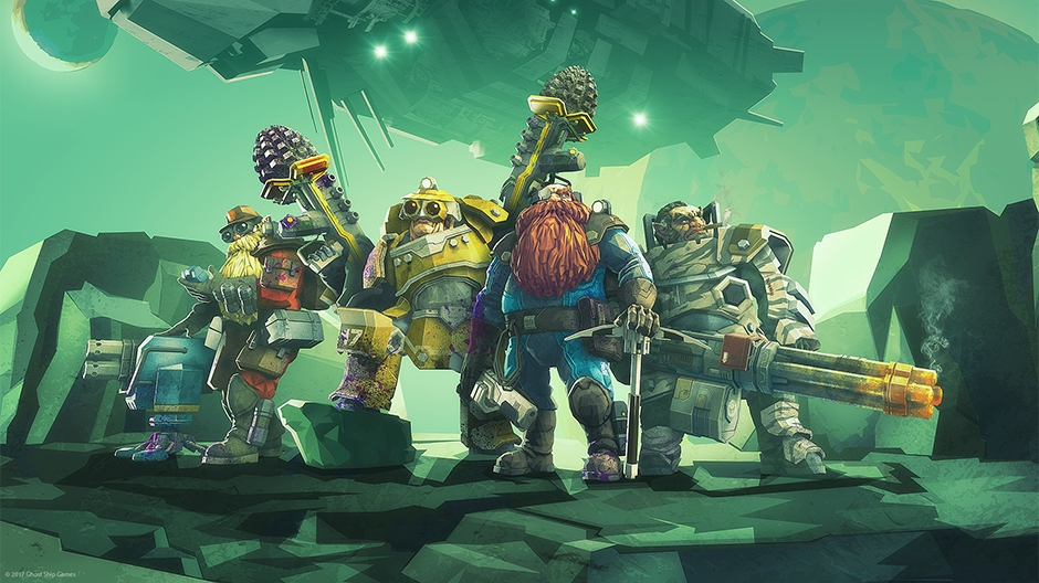 Video For Deep Rock Galactic is Available Now on Xbox Game Preview