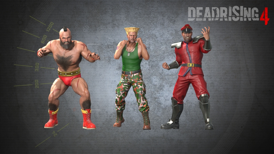 Dead Rising 4 Street Fighter DLC Hero