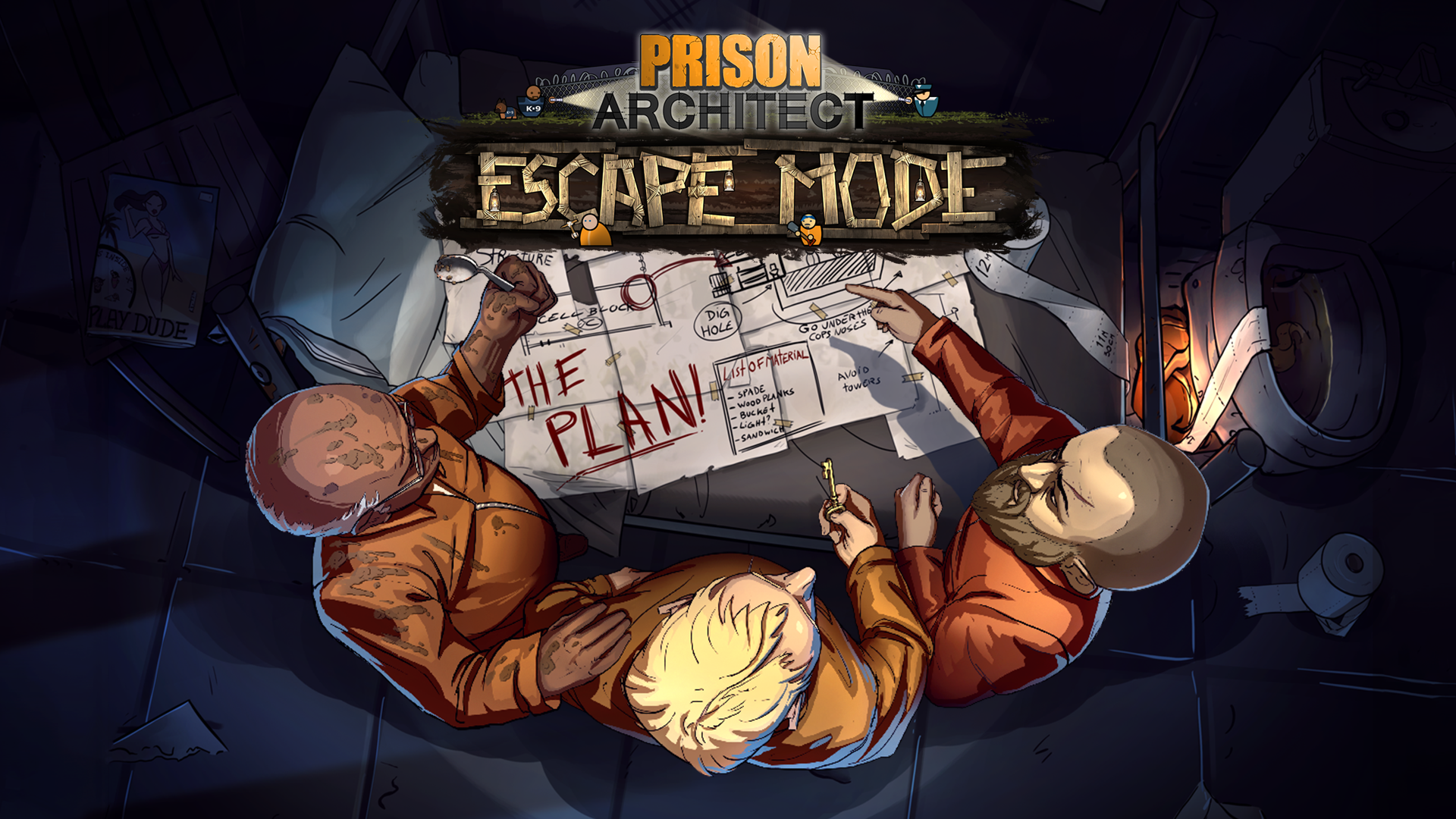 Video For The Great Escape: Prison Architect's Popular Escape Mode Breaks Free on Xbox One