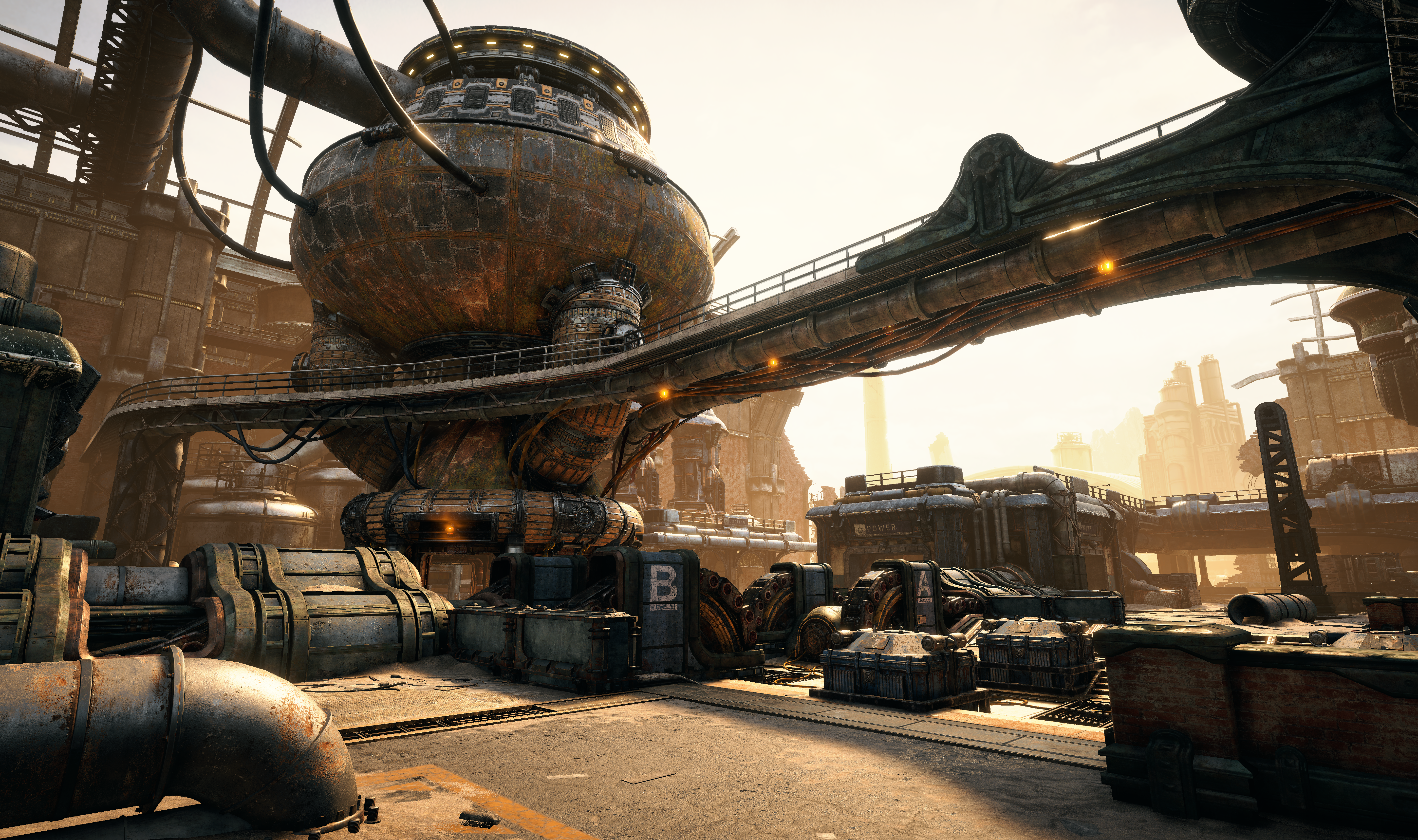 """Gears of War 4"" Forge Blitz multiplayer map"