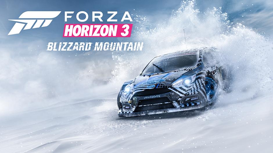 Forza Horizon 3 Blizzard Mountain Expansion Key Art