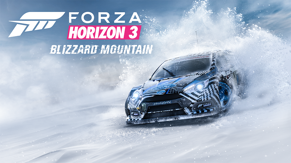 Forza Horizon 3 Blizzard Mountain Expansion Key Art
