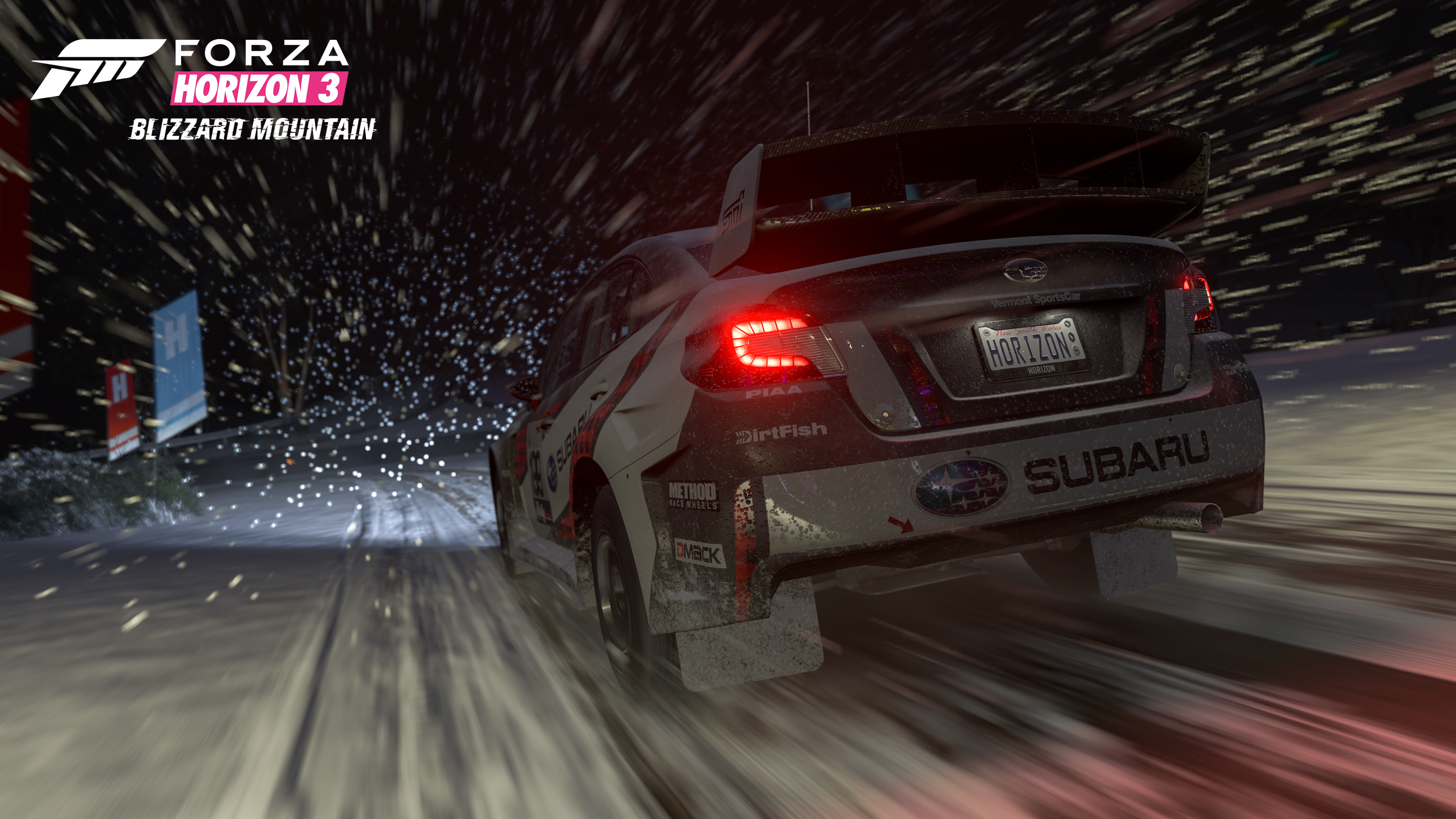 Night Race in Forza Horizon 3 Blizzard Mountain Expansion