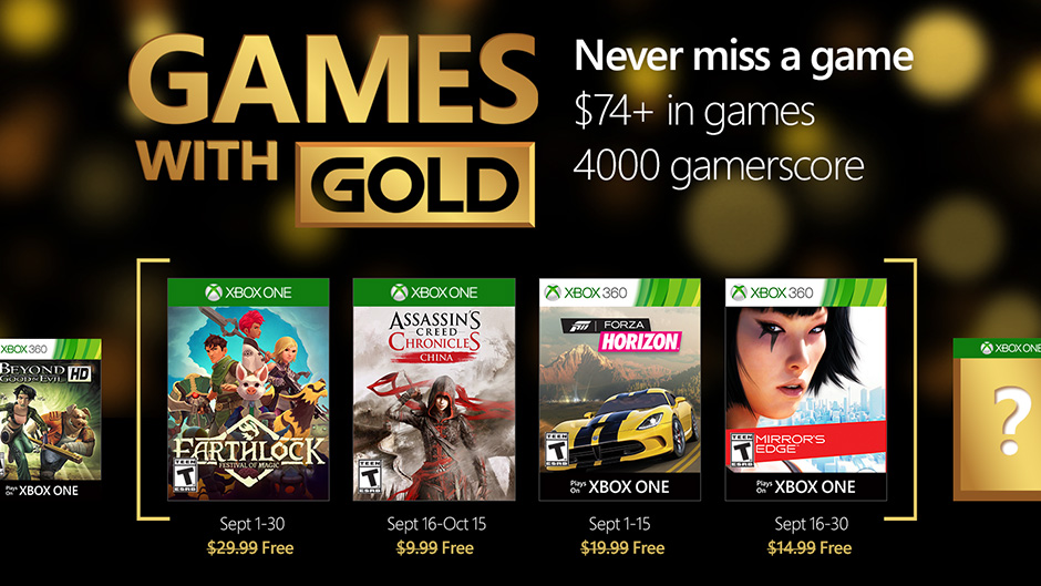 Video For Magic, Stealth, Free Running: September's Games with Gold Has it All