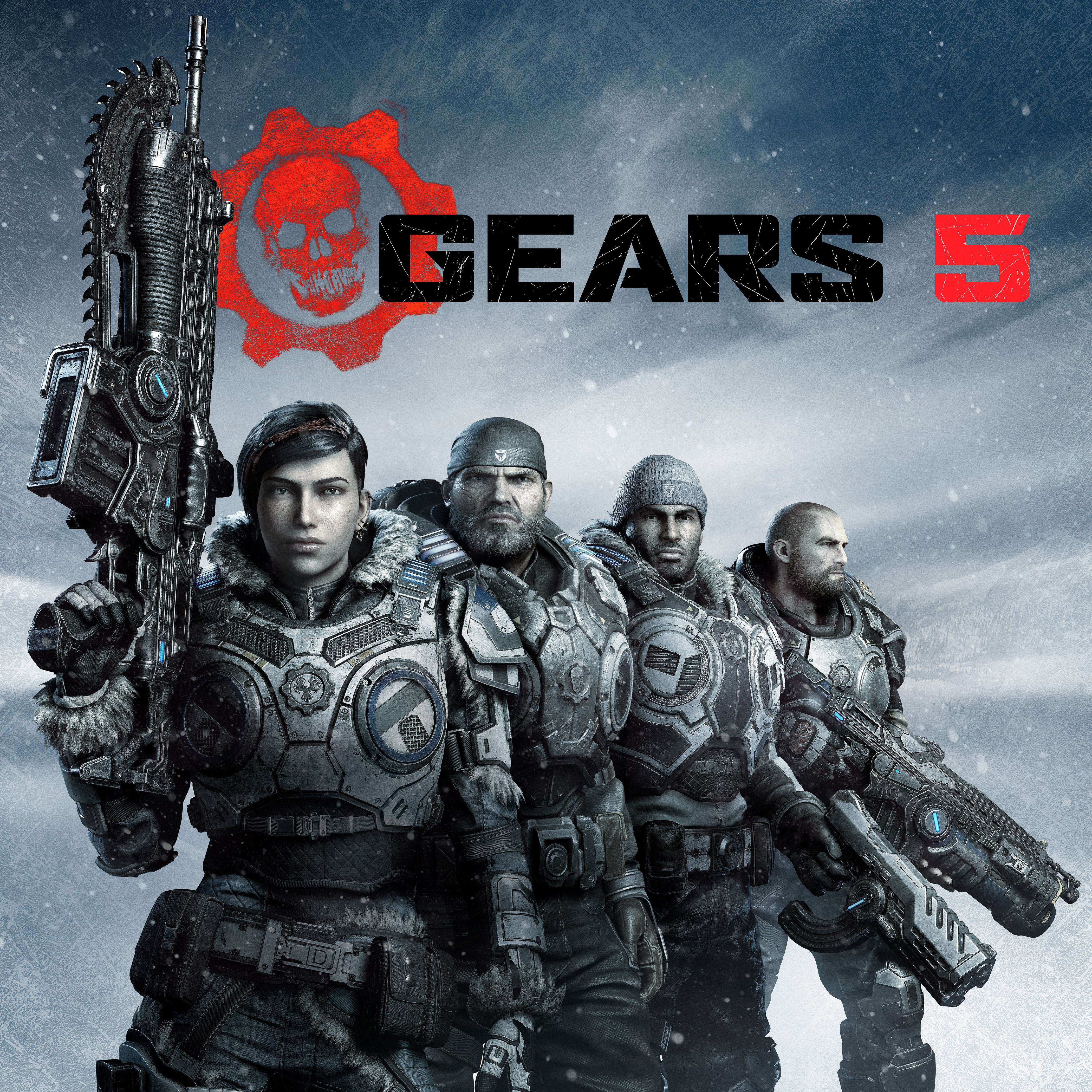 Gears 5 Secondary Square Square Key Art