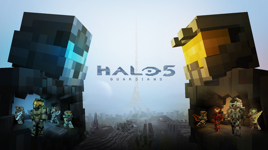 Halo 5 Guardians Minecraft for Xbox