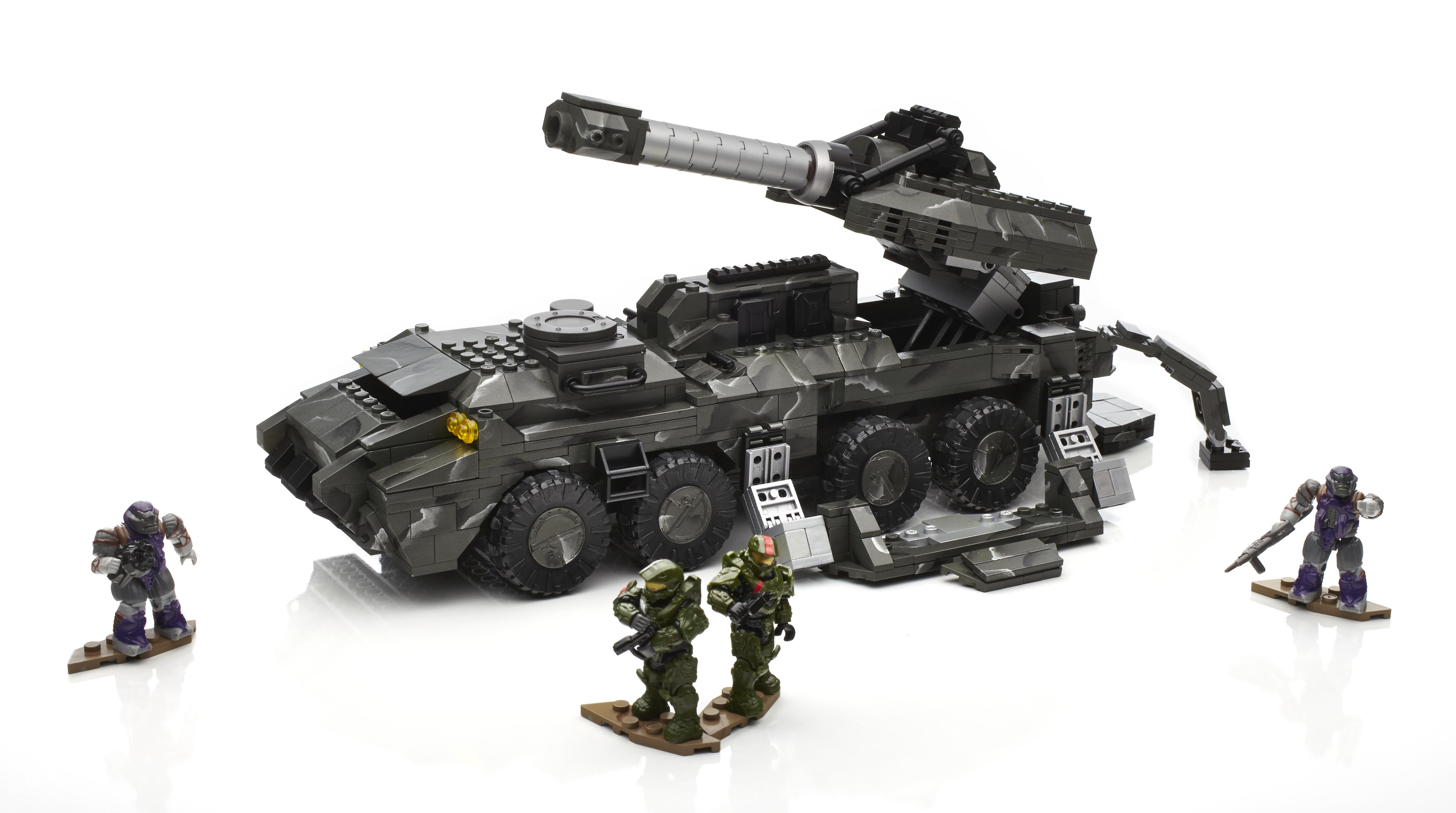 Halo Mega Bloks UNSC Vehicle