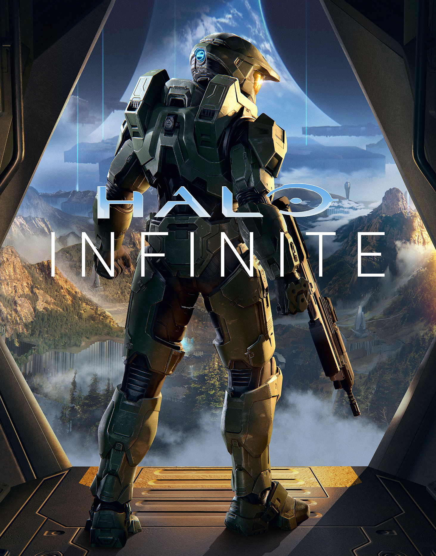 Halo Infinite TeaserArt Vertical png