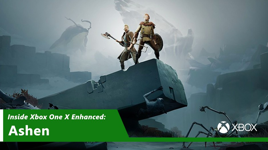 Ashen Xbox One X Enhanced Hero Image