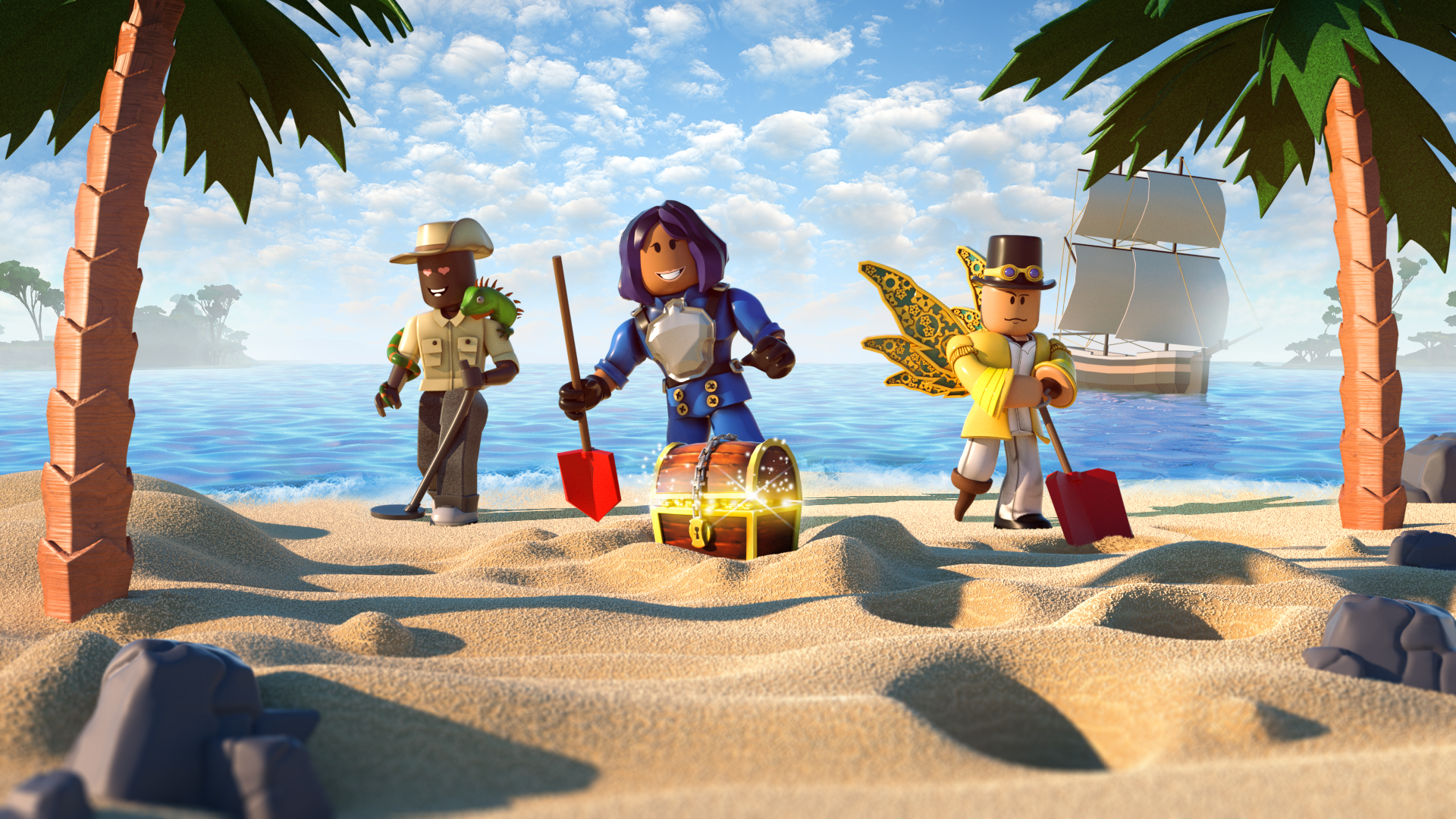 Video For Treasure Hunt Simulator is Now Available for Roblox on Xbox One