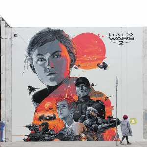 Video For Halo Wars 2 Takes Art Series to the Streets