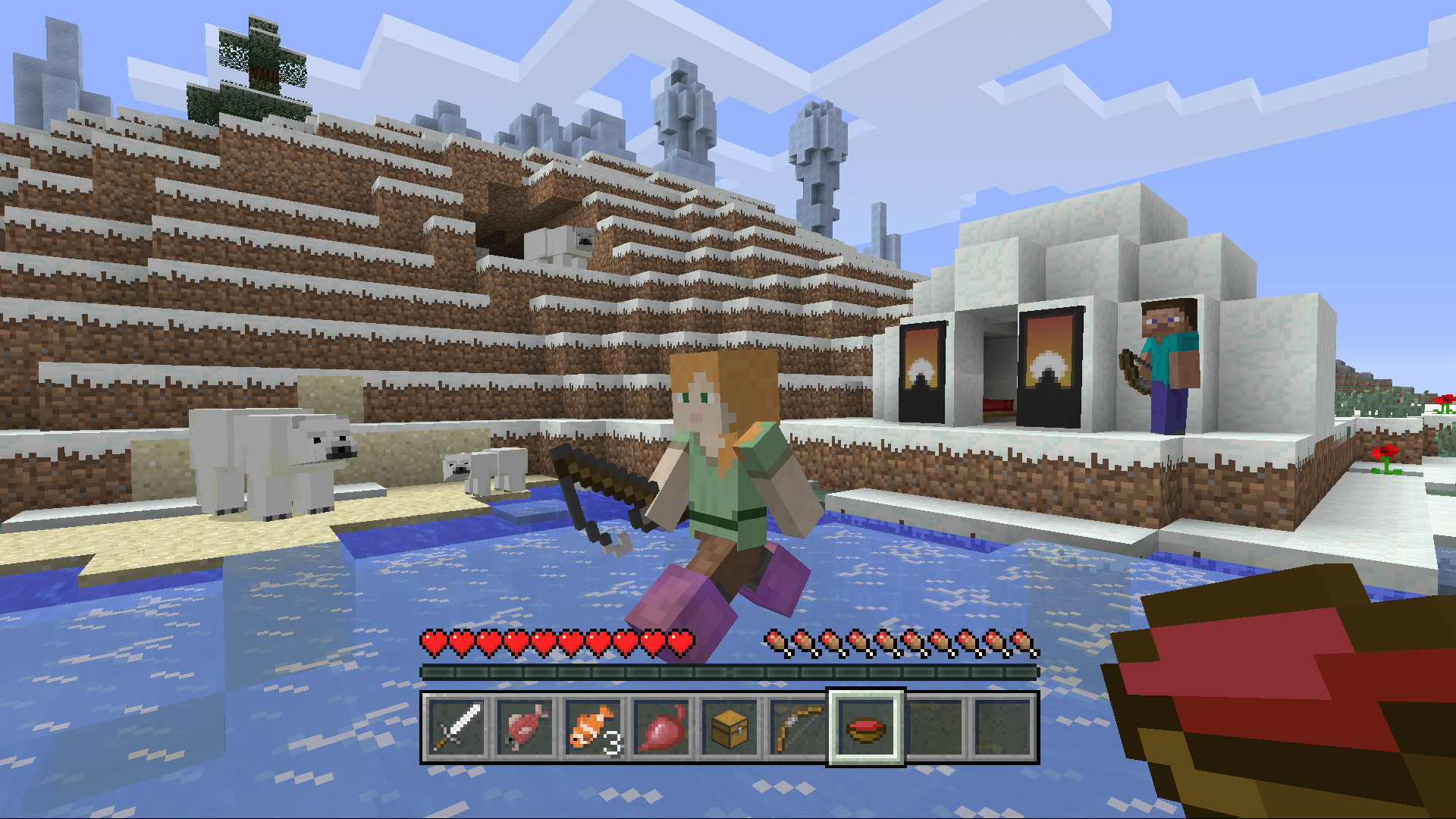 Minecraft October Update - Banners and Polar Bears