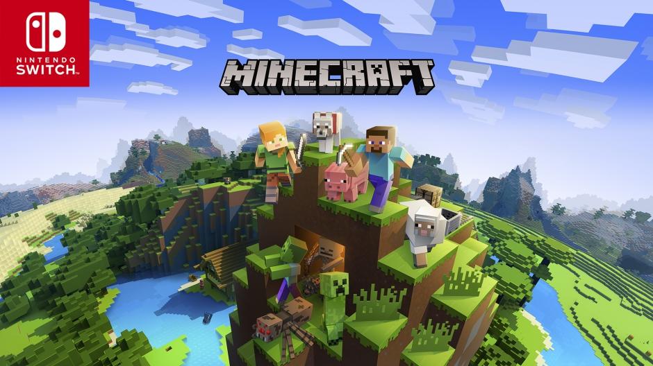 Minecraft Key Art with Switch
