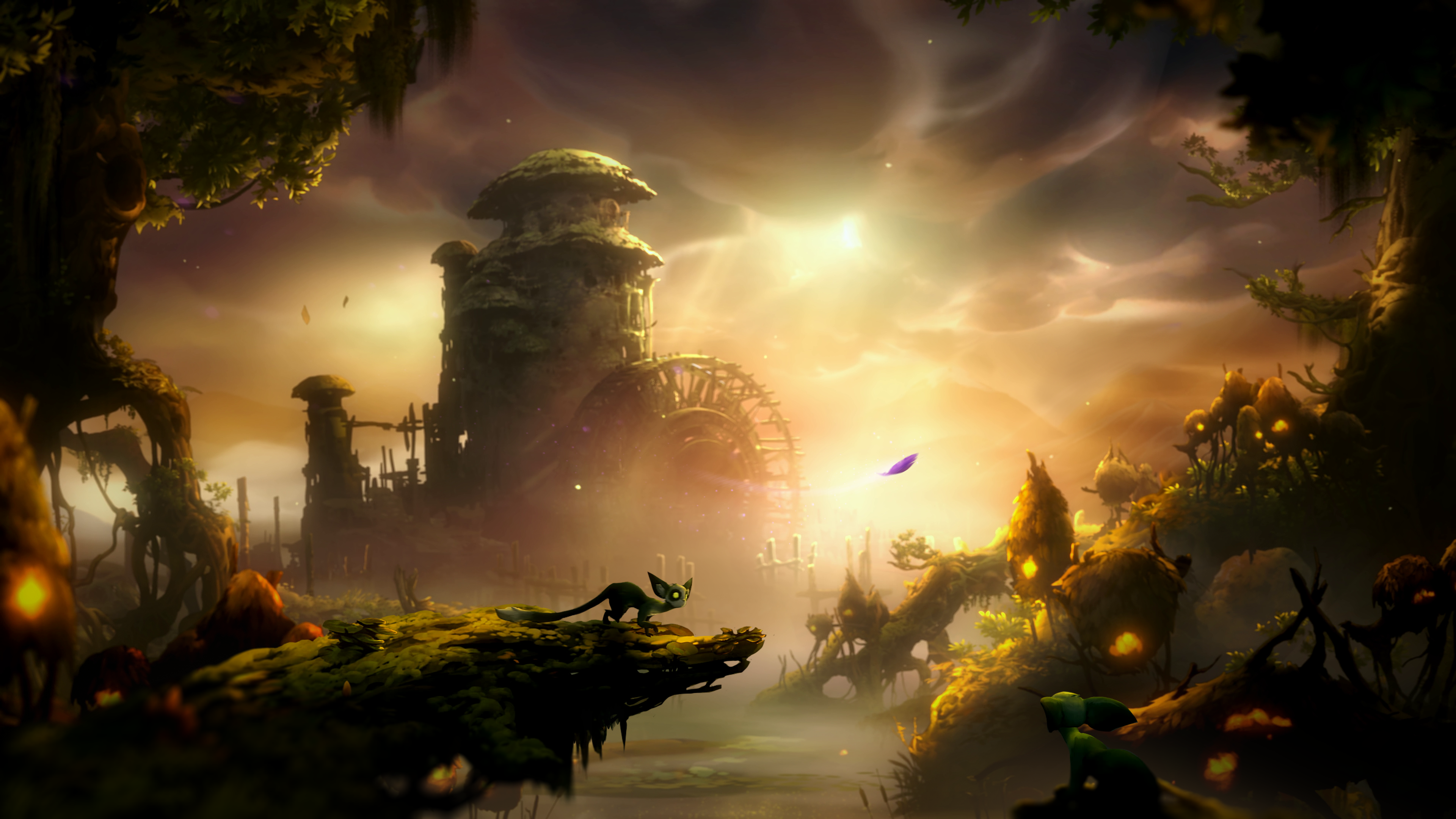 Ori and the Will of the Wisps Screenshot Water Mills