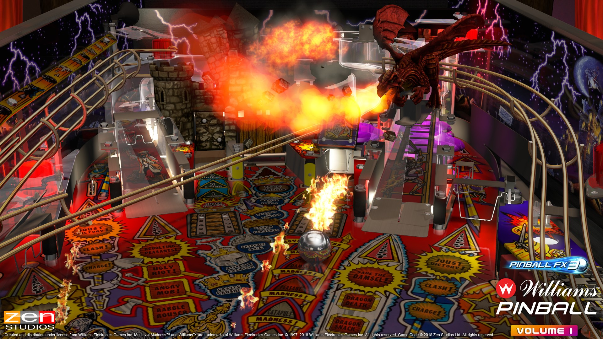 Pinball FX3 Welcomes Williams Pinball: Volume 1 and a New