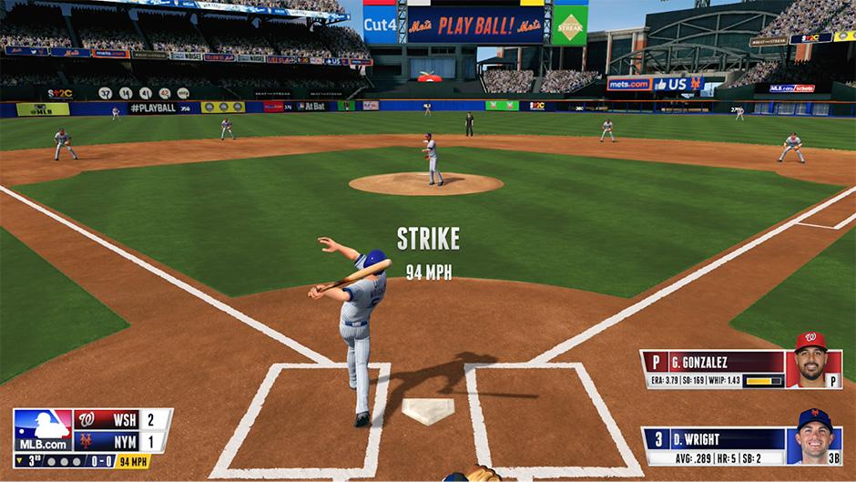 RBI Baseball Hero image