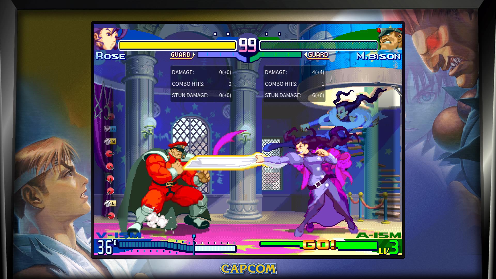 Street Fighter 30th Anniversary Edition Screenshot