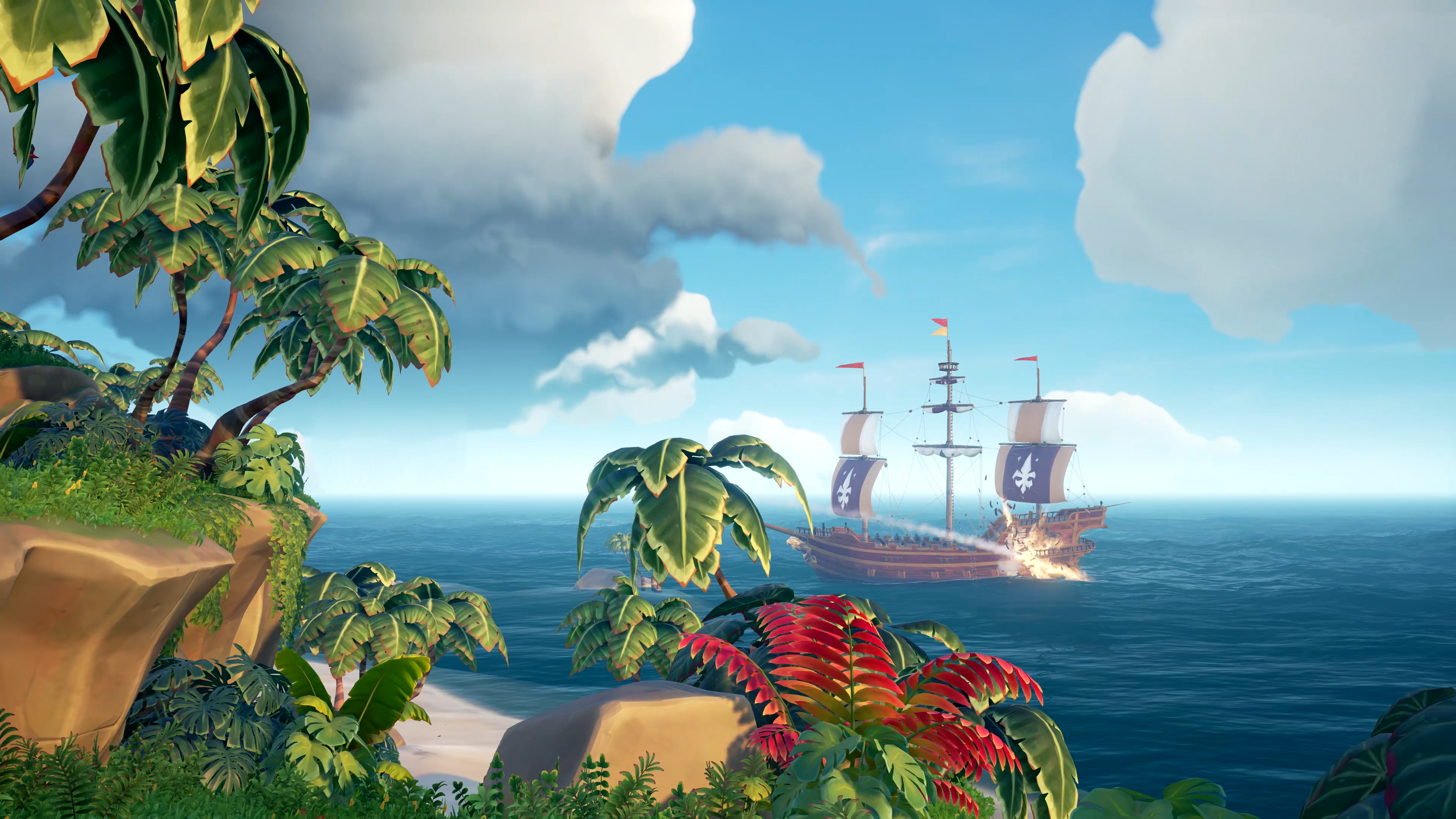 Sea of Thieves Island 4K