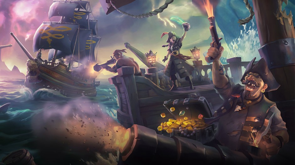 Sea of Thieves Controls Feature Hero Image