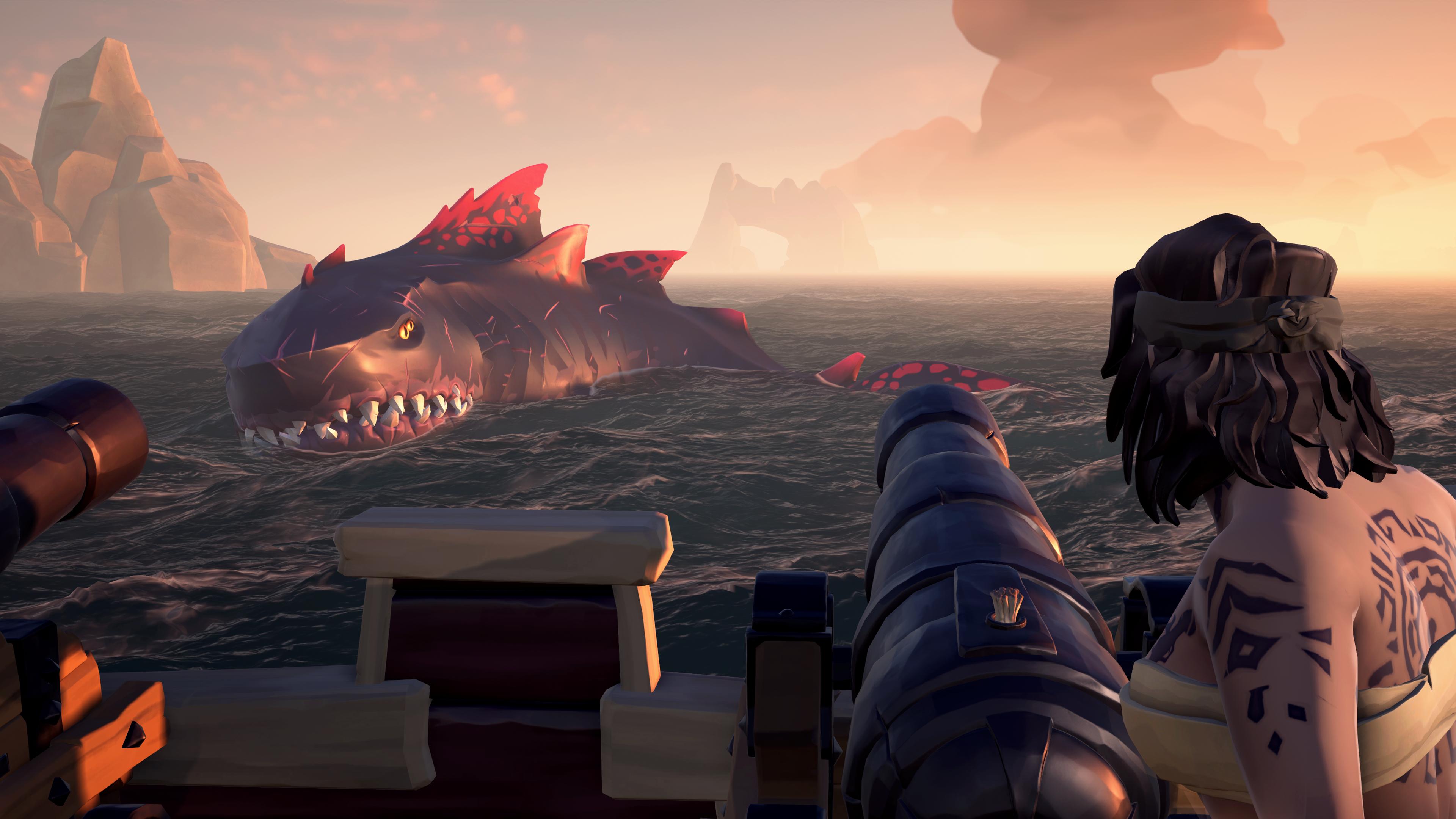 """Sea of Thieves"" Shrouded Spoils Megalodon"