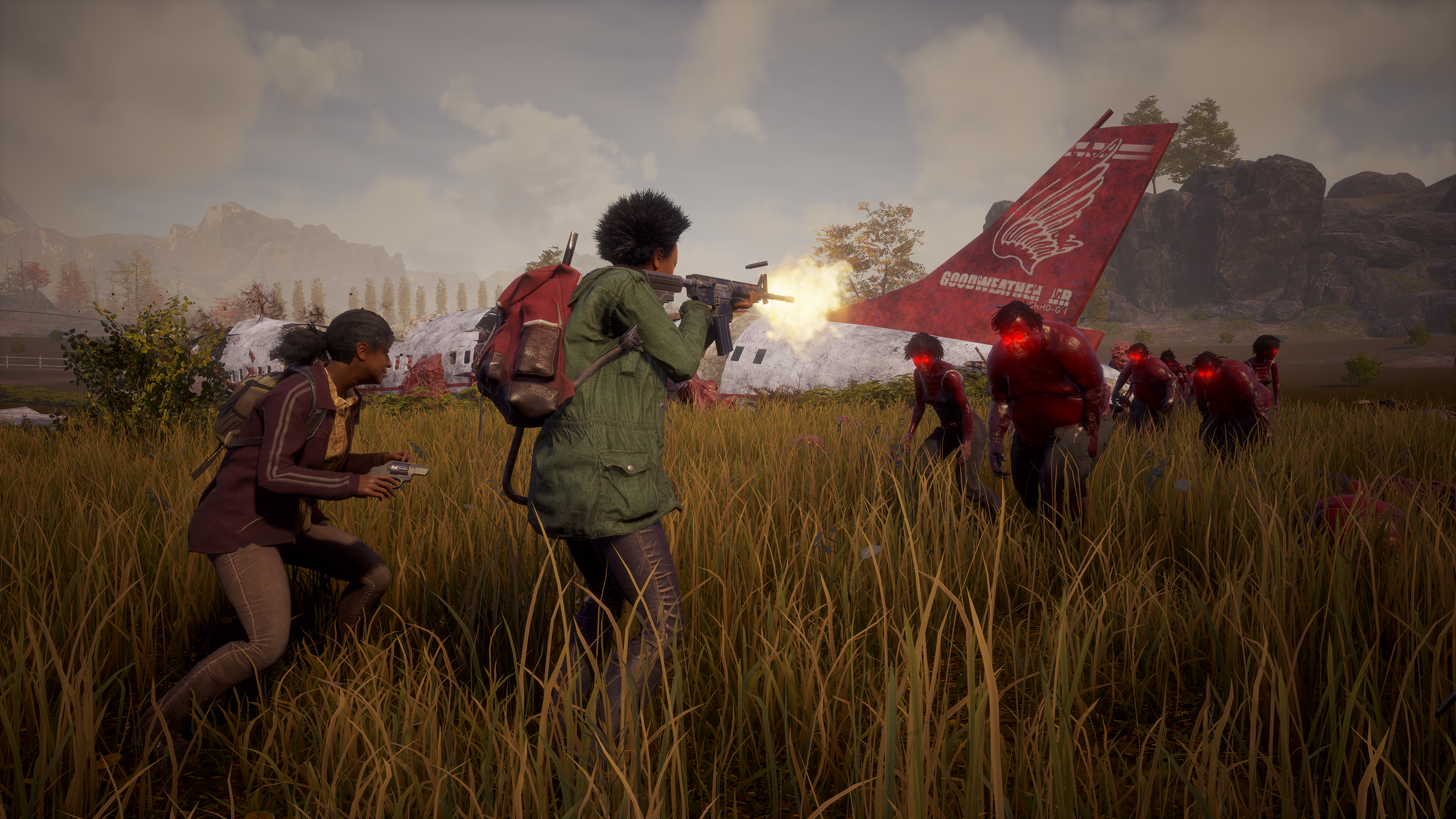 State of Decay 2 Plague Zombie Horde Screenshot