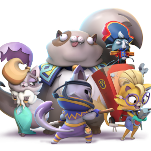 Video For Celebrate Our National Cat Obsession with the Cast of Super Lucky's Tale