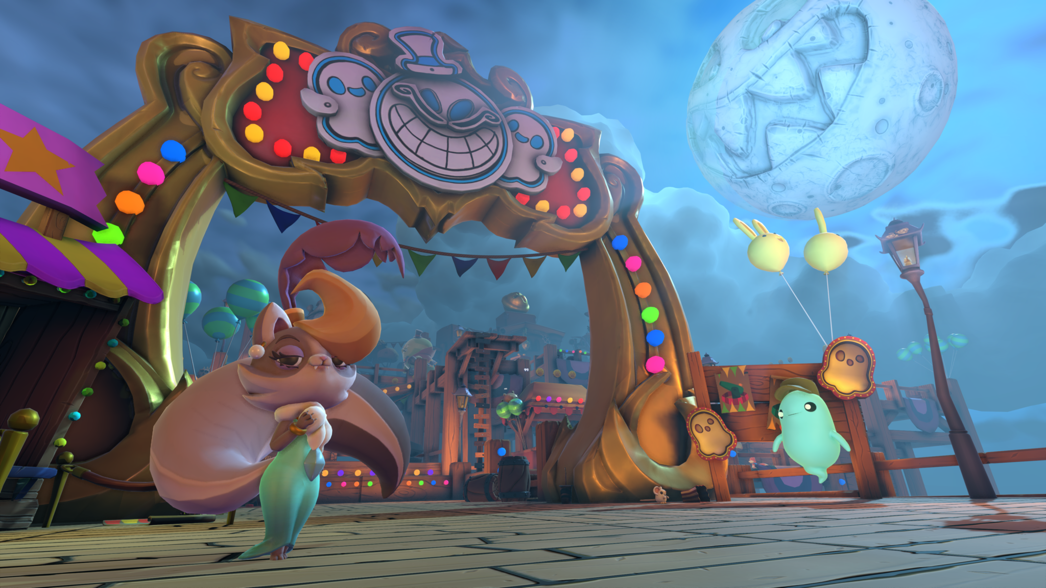 Super Lucky's Tale Carnival