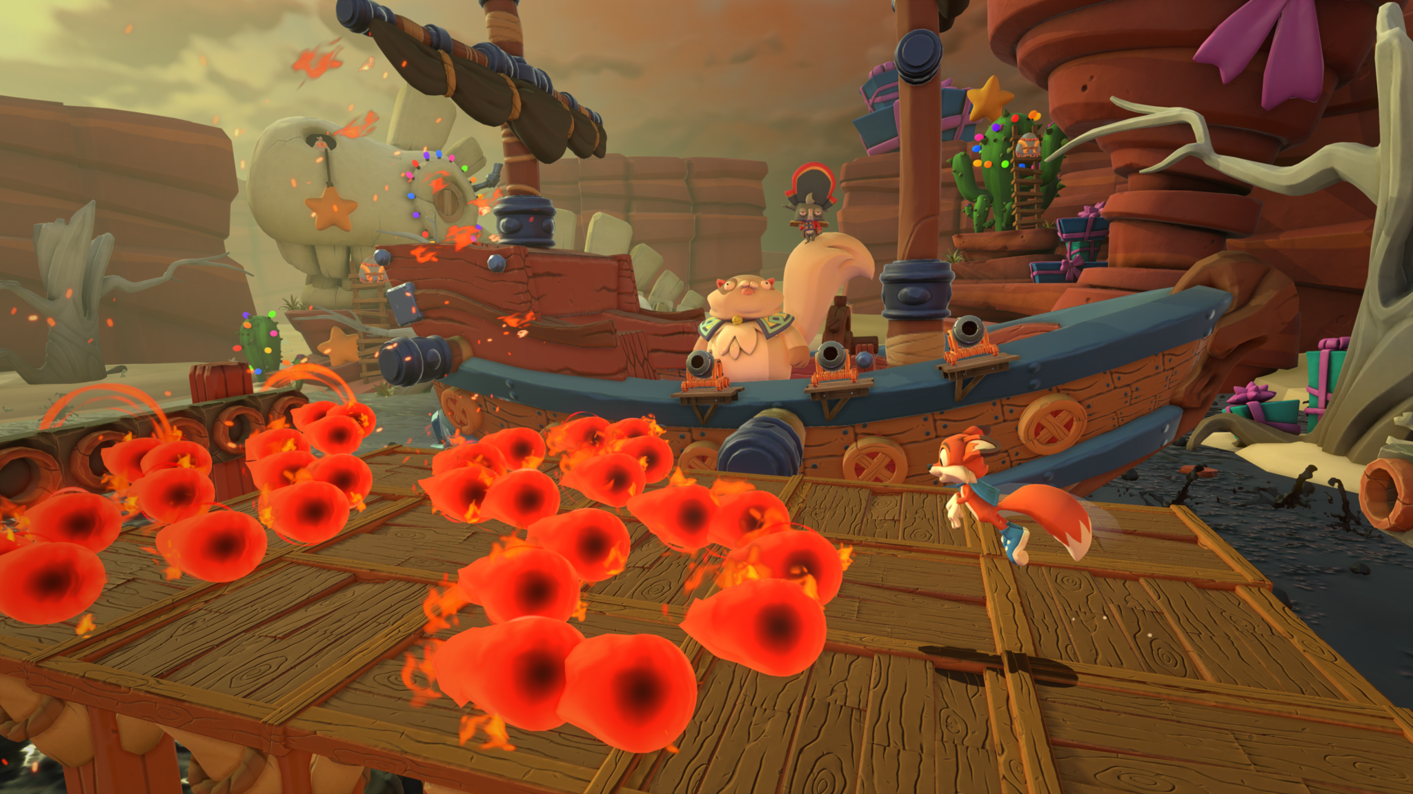 Super Lucky's Tale Pirate Ship