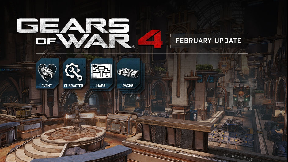 Video For Gears of War 4 Celebrates Valentine's Day with Torque Bow Tag and New Maps