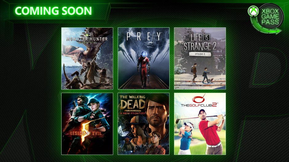 Xbox Wire - Xbox Game Pass - April Hero Image