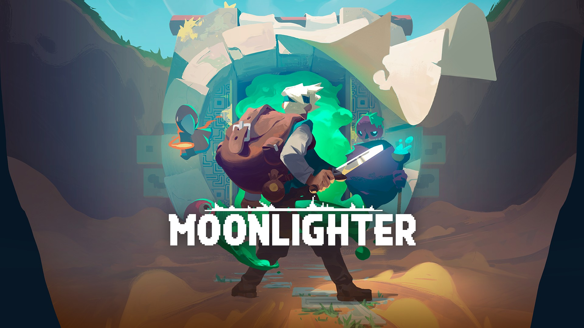 Moonlighter Key Art