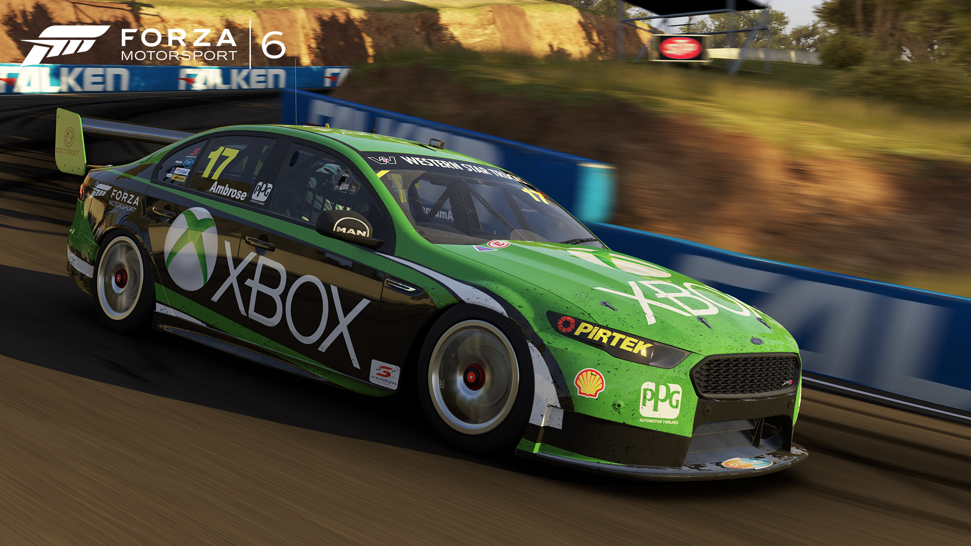 Race Down Under With V8 Supercars Australia In The Forza Motorsport 6 Garage Xbox Wire