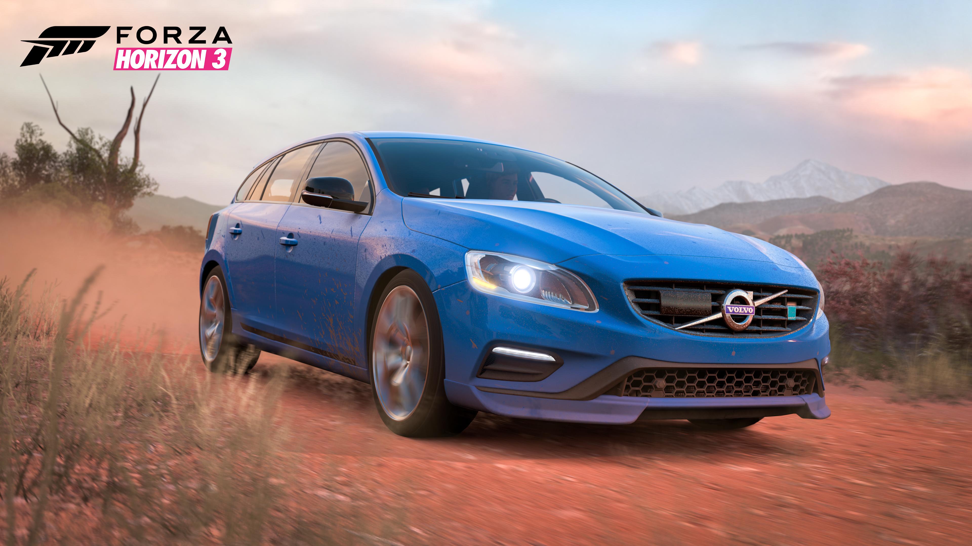 2015 Volvo V60 Polestar in Forza Horizon 3 Rockstar Car Pack