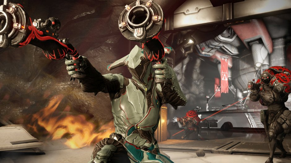 Video For Warframe, the Free to Play Hit, Ends the Year with Biggest Update Yet