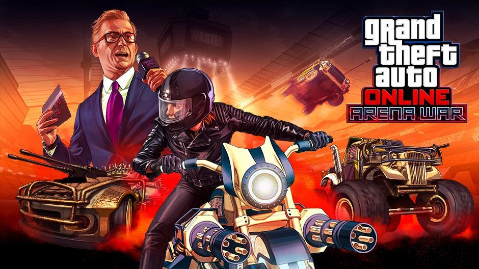 Video For GTA Online: Arena War Out Now on Xbox One